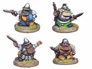 Crusader Dwarves (Pistol & Sword)