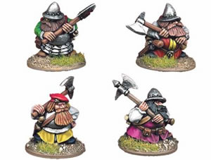 Crusader Dwarves (Axe)