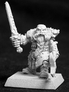 Reaper Dwarf from the Warlord range (Werner Klocke)