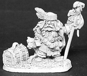 Reaper Dwarf from Dark Heaven range (Bob Olly)