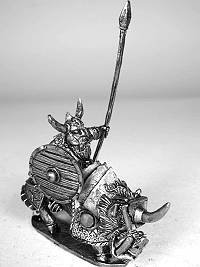 Ghost Mini's Dwarf Boar Rider (Spear)