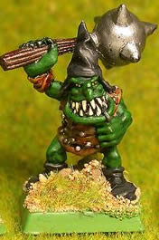 Goblin with mace