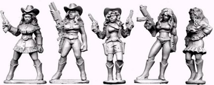 Copplestone Cowgirls