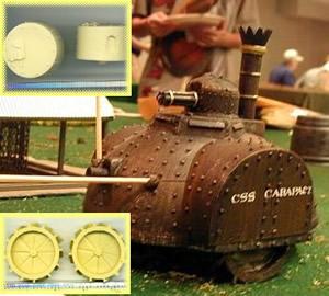 Miniaturas steampunk y juegos de estrategia Brigade1